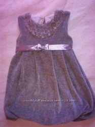 велюровое тепленькое платьеце