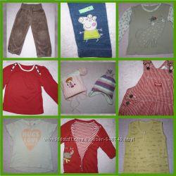 Штаны, комбинезоны, шортики, платья, кофточки на 1, 5-3 года