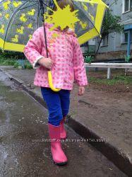 Дождевик-ветровка Mothercare для девочки 2-3 лет