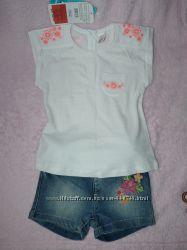 Шикарная футболка, шорты LC Waikiki, с бирками, , 98-104 см