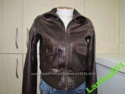 куртка брендовая молодёжная Next натуральная кожа Великобритания