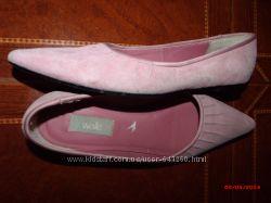 продам туфли по стопе 24см замшевые