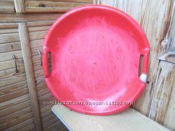 Тарелка для катания на горке