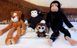 Мягкие игрушки фирменные. Обезьяна Ikea, мартышки, Даша Дора, Пятачок Дисне