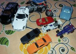 Фирменные металлические машинки Mattel, Hot Wheels, автовоз мотоциклы и др