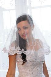 Свадебное платье красивое и нежное