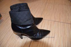 Ботинки Geox из натуральной лакированной кожи