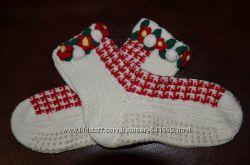 Теплые Рождественские носочки