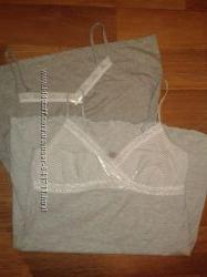 Хб фирменные рубашечки для сна, р. 44-48. Состояние отличное