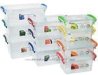 Пластиковые емкости от 0, 55л до 7л