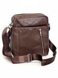 Мужская сумка, натуральная кожа. Цвета черный и кофейный.