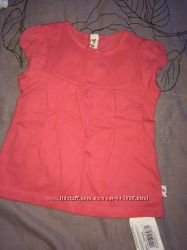 Новые футболки, кофточка Mothercare размер 80