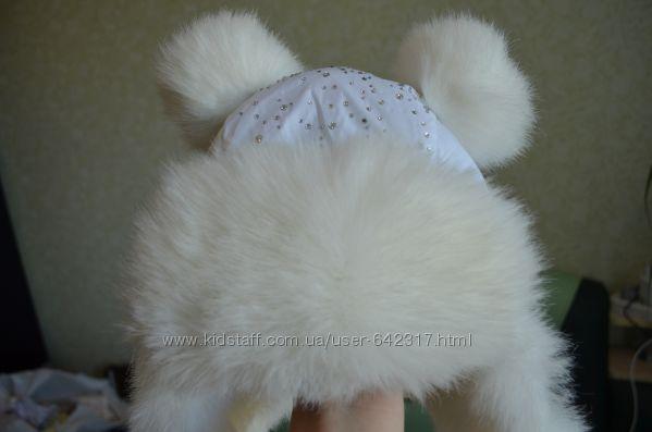 Белая шапочка идеальное состояние