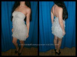 Шикарное платье с рюшами KIkiRiki