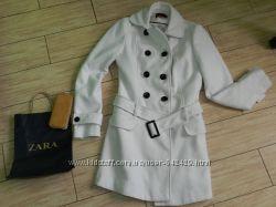 Кашемировое пальто фирменное NEW LOOK