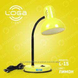 Настольные лампы Loga light  большой выбор цветов