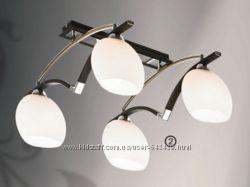 Люстры на 4 лампы кухня гостиная комната разные стили