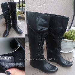 Сапоги кожаные еврозима от Attizzare 37 размер в отличном состоянии