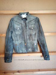 куртка-пиджак кожаная, s