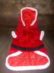 Маскарадный костюм Санта для домашнего питомца