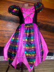Маскарадное платье на рост 152 см на 11-12 лет