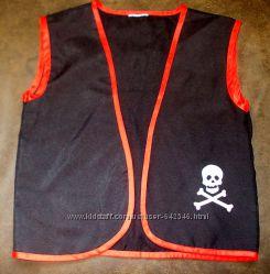 Маскарадный жилет пирата до 42 размера