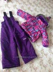 зимний костюм для девочки GUSTY