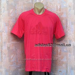 Мужская футболка Adidas V35924 из натурального хлопка.