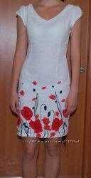 Платье лен S