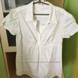 Блуза, размер 50-52, 97 хлопок, 3 эластан.