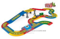 Wader Kid Cars детская железная дорога 4, 1м,  арт. 51711