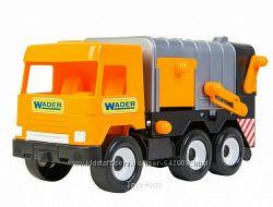 WADER Серия машинок Middle truck city