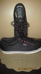 Мокасины Kappa атлас чёрные 39 размер
