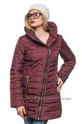 Зимняя женская стеганная куртка миледи размер 44-54