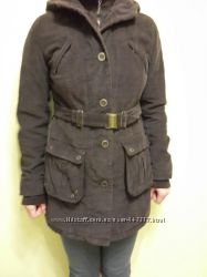 Стильная куртка-парка вельвет на осень, зиму