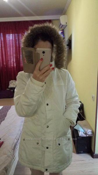 Стильная куртка, молочного цвета, vero moda
