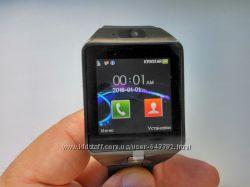 Смарт часы-телефон SmartWatch DZ09 с поддержкой сим-карт новые