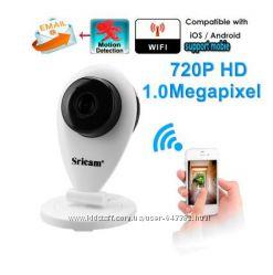 IP-камера Sricam SP009 Wi-Fi 720P видеоняня новая