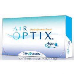 Air Optix, ciba vision. Контактные линзы Эир Аир  оптикс