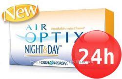Контактные линзы Air Optix Nihgt&Day. Акционный набор. Аир Оптикс