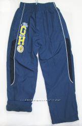 Спортивные штаны, плащевка на флисе, 7-14 лет, р. 122-164