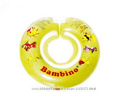 Круг для купания новорожденного Delfin EuroStandard, круг на шею Bambino