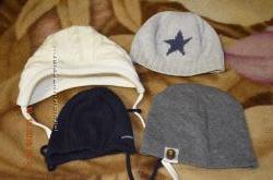 продам как новые шапочки для новорожденных