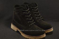 Женские зимние ботинки натуральный замшнатуральная цигейка