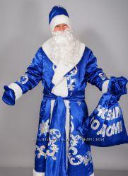 Продам Новогодний костюм Дед Мороз Санта Клаус и Снегурочка