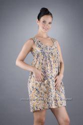 Платье сарафан Naf-Naf хлопок идеально на лето и платье-мини