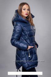 Цену снизила. Зимняя, теплая куртка, пальто, пуховик  размер 48