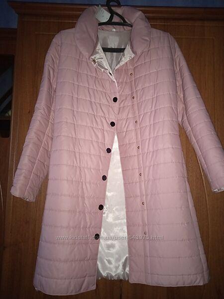Пальто, куртка удлиненная деми