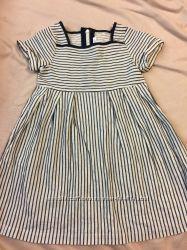 Платье jacadi морская полоска 4-6 лет
