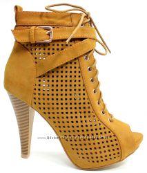 Женская обувь, ботинки, каблук, платформа, замш